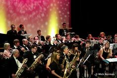 University Big Band performing in The Gulbenkian Theatre, February 2011