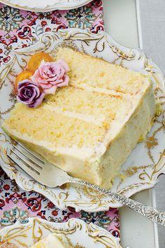 The New Ladies Lunch: Lemon-Orange Chiffon Cake Recipe