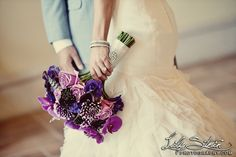 Hyatt Regency Huntington Beach Resort Wedding (Maurice + Sheila) #nozza #purple #flowers #bride
