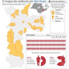 O mapa da violência em São Paulo