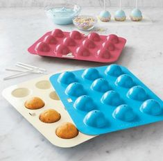 Nordicware's new Cake Pop Pans     (Are these a good thing?  Or do they take away some of the fun?)