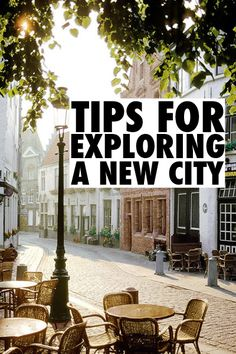 Tips for Exploring a New City-- this will probably come in handy someday