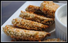 Yumm! I Love fried dill pickles - these are baked and use panko crumbs. Can't wait to try these! Better yet - I'll have my husband make 'em since he's the cook in our family!