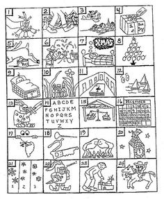 Can you guess the  Christmas songs from the pictures? I remember doing this in school.