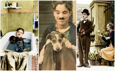 15 Interesting colorized photos of Charlie Chaplin in the 1910s-30s