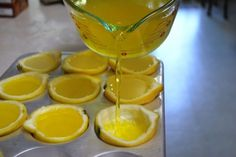 lemon drop jello shots YUMM