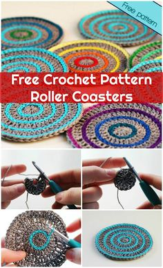 70 Easy Free Crochet Coaster Patterns for Beginners - Page 3 of 14 - DIY & Crafts