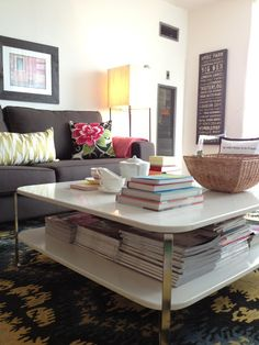 colors, coffee table, wall art