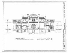 Jeffersonian Architectural Details   section of Thomas Jefferson's Monticello