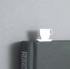 Coffe cup bookmark
