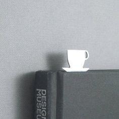 Coffe cup bookmark