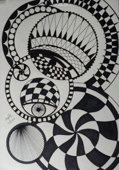 Random Zentangle