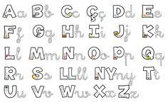 abecedari lletra lligada - Cerca amb Google
