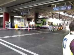 The interior of  central railway station today occupied by police and firefighters. On Thursday afternoon, a power failure in the area of Lucern. Power Shortage, Lucerne, May 7th, Train Station, Switzerland, Maine, Business