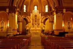 This is one beautiful place to photograph, it's the Cathedral at Gonzaga University, Spokane, Wa.