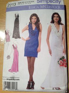 Simplicity Pattern 2213 Misses/Miss Petite Dress by SplashOfLuv
