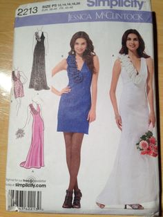 Simplicity Pattern 2213 Misses/Miss Petite Dress by SplashOfLuv