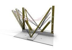 Formworks Spring Fabric Formworks / Research Concrete Formwork, Concrete Molds, Concrete Structure, Roof Structure, Hyperbolic Paraboloid, Concrete Mix Design, Polystyrene Insulation, Insulation Board, Concrete Architecture