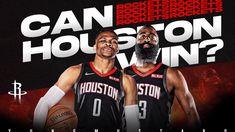 Westbrook Nba, Russell Westbrook, Nba Youtube, Houston Rockets Basketball, Youtube Thumbnail, James Harden, Black And White, Red Black, Black N White