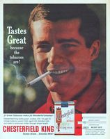 Chesterfield King Tastes Great 1963 Ad Picture