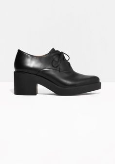 & Other Stories | Lace-Up Leather Flats