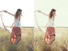 Photo Edit Tutorial – Simply Vintage - Night Fate Photoshop Actions & More!
