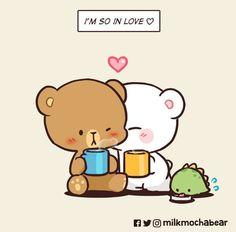 Cute Couple Comics, Cute Couple Cartoon, Cute Love Cartoons, Cute Love Pictures, Cute Love Gif, Chibi Cat, Cute Chibi, Cute Cartoon Images, Cute Cartoon Wallpapers