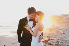 Ocean Wedding Portraits