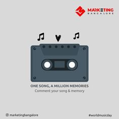 Which is that song that is close to your heart. Let's hear your memory Comment and tag people  #worldmusicday  #marketingbangalore #music #musiclovers #bangaloreans #musicmemory #musicmemes World Music Day, Tag People, Music Memes, Digital Marketing Services, Music Lovers, Memories, Let It Be, Songs, Heart