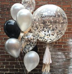 "160 Likes, 2 Comments - Premium Balloons (@balloonbar.ca) on Instagram: ""We wish you eternal happiness ❤️❤️ #Wedding #Montreal #Laval #WeddingBalloon #Engagement…"""