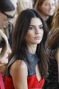Kendall at Calvin Klein Collection fashion show