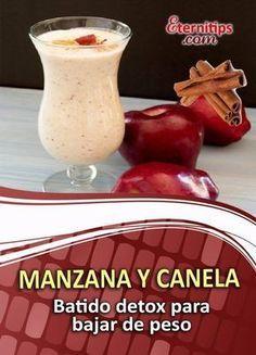 Batido de Manzana y Canela para Bajar de Peso | Eternitips