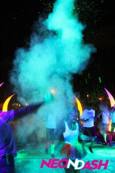 #NeonDash #5k #FunRun #Neon #Fun #Color