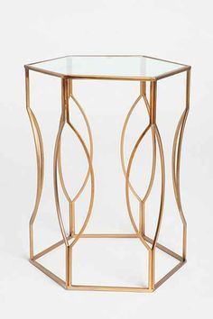 Hexagon Side Table - Urban Outfitters -monitor