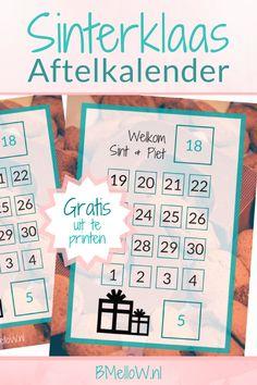 Sinterklaas aftelkalender BMelloW.nl