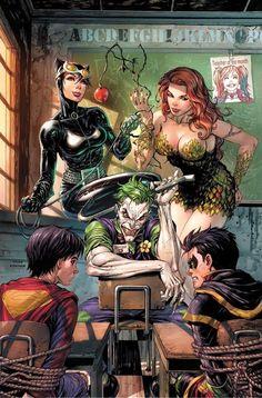 DC comics - Joker .....  Super Sons #1 (Tyler Kirkham Variant)