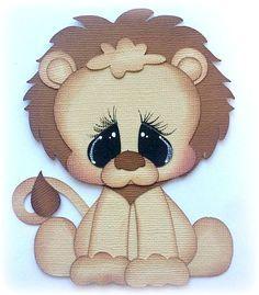 *NEW* POUND PAL LION ZOO PREMADE PAPER PIECING PIECE 3D DIE CUT MYTB KIRA #Handmade