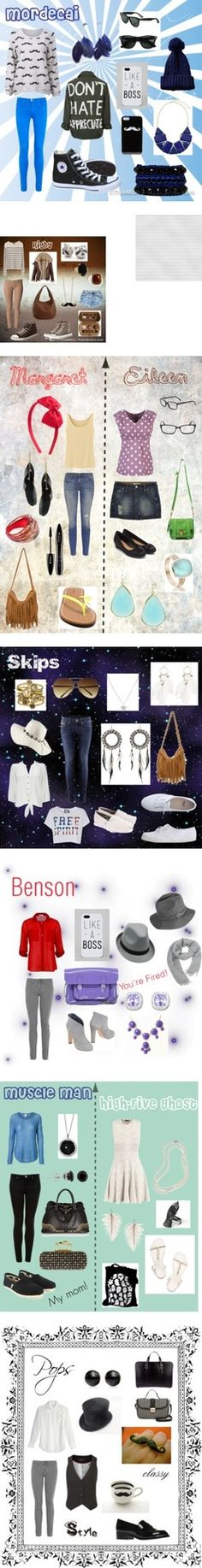 Regular Show collection by ellalisaratt on Polyvore