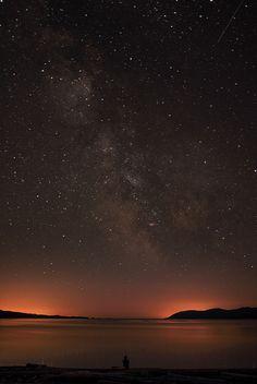 Starry Night Sky by Elizabeth Gadd, via Flickr