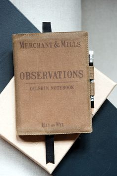 merchant and mills observation notebook