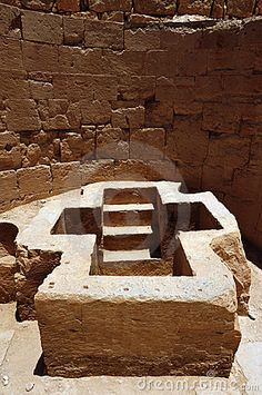 A christian tomb with stairs leading underground at ancient Beit Shean in Israel