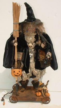 Handmade Witch By Kim Sweet