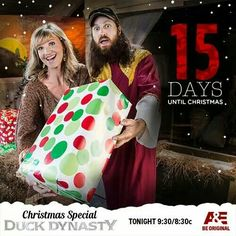 Missy and Jase Robertson 15 Days Until Christmas 2014.