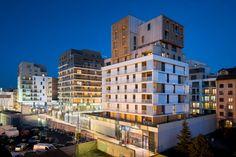 Ameller, Dubois & Associés , Sergio Grazia · Housing and shops complex