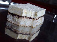 Domaći Kuhar - Deserti i Slana jela: Kokos fantazija Kolaci I Torte, Tray Bakes, Vanilla Cake, Delicious Desserts, Sweet Tooth, Cheesecake, Food And Drink, Coconut, Cooking Recipes