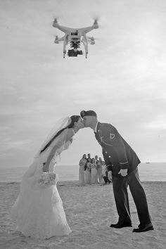 Drones are changing the way we shot weddings, opening up a whole new world of creativity.  http://celebrationsoftampabay.com/photographers-st-pete-beach/