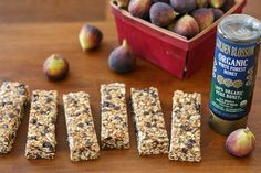 No-Bake Fig & Organic Honey Granola Bars - With organic honey, dried figs, and dates for sweetness and flavorful nuts and cashew butter for protein and flavor, these bars are the perfect after-school or post-workout energy boost.