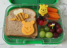 4 Winnie The Pooh Themed Lunches