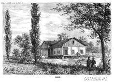 Hubin Łuck (powiat) Dwór będący własnością i miejscem zamieszkania J. I. Kraszewskiego w latach 1848-1853 data: 1880Kliknij aby zobaczyć pełny rozmiar