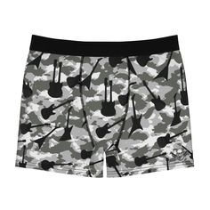Items similar to Men's Boxer Briefs guitar camouflage from parachute threads and six string razor on Etsy Men's Boxer Briefs, Plaid Design, Camouflage, Trending Outfits, Underwear Men, Group, Board, Swimwear, Guitar